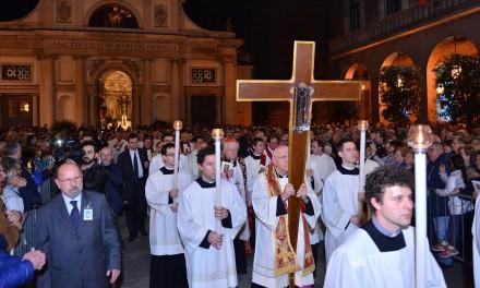 Scola a Varese: «Il crocifisso simbolo e immedesimazione con ogni tragedia di oggi»