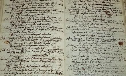 Restauro dei libri dell'archivio parrocchiale