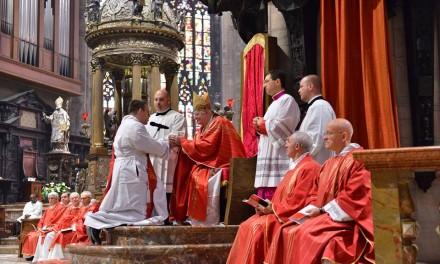Scola ai preti novelli: «Il sacerdozio è potente fattore di edificazione sociale nella metropoli»