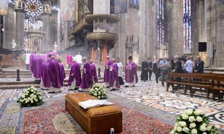 Scola: «Accompagniamo il nostro padre e maestro cardinal Dionigi all'abbraccio con il Signore»