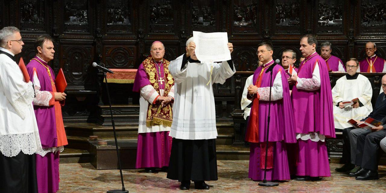 Delpini Arcivescovo, la presa di possesso in Duomo