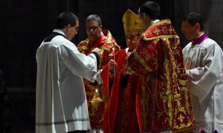 Messa in Coena Domini: «Ricominciare dalle lacrime»