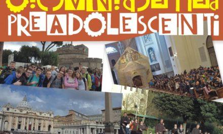 La gioia della fede, preadolescenti a Roma