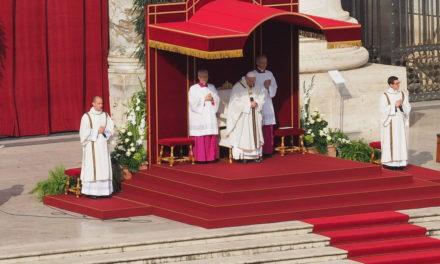 Il Papa: «Vivere non di mezze misure, ma di santità»
