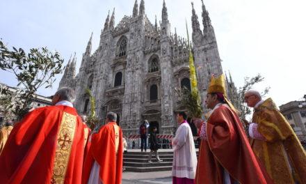 Domenica delle Palme, processione con gli ulivi benedetti