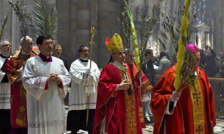Domenica delle Palme, Messa dell'Arcivescovo in diretta tv, radio e web
