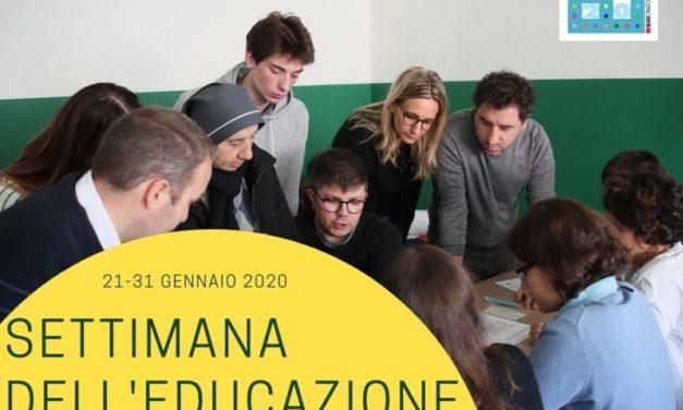Settimana dell'Educazione 2020