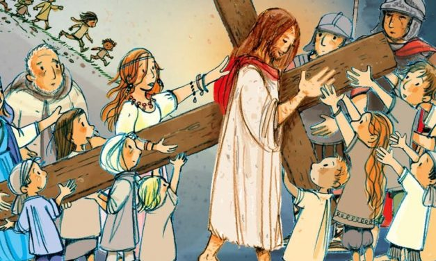 Via Crucis per i ragazzi «Accanto a Te»