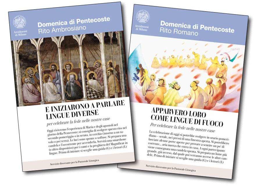 La preghiera in famiglia per Pentecoste