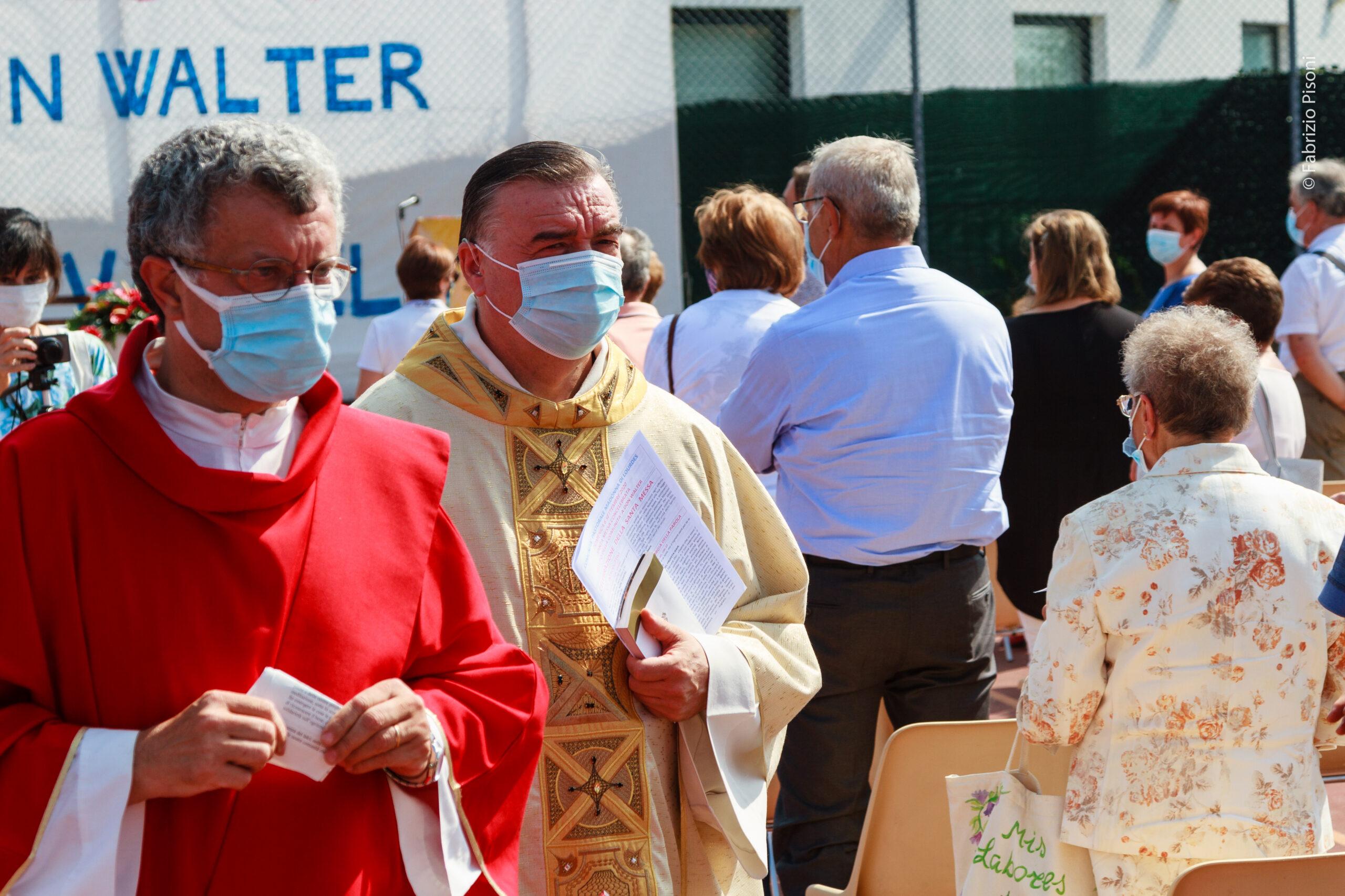 Celebrazione Eucaristica e saluto della Comunità a don Walter